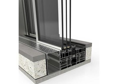 Cor-Vision Plus Sliding System with thermal break